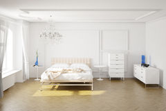 Modern bedroom Royalty Free Stock Image