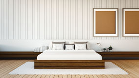 The modern bedroom Royalty Free Stock Photo