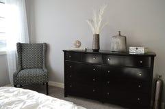 Modern bedroom furniture Royalty Free Stock Image