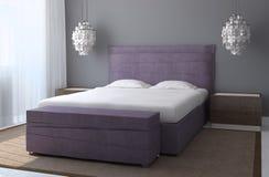 Modern bedroom interior. Stock Photography