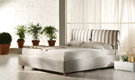 Modern bedroom interior Royalty Free Stock Photo