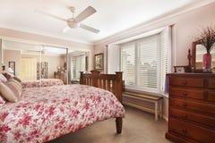 Modern bedroom interior Royalty Free Stock Photos