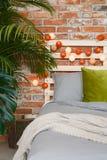 Modern bedroom interior Stock Photos