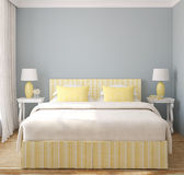 Modern bedroom. stock illustration