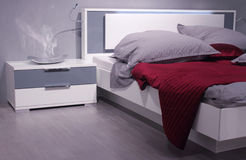Modern bedroom interior design. Stock Images