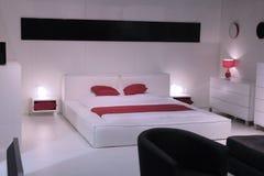 Modern bedroom interior design. Royalty Free Stock Photography