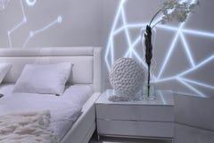 Modern bedroom interior design. Stock Photography
