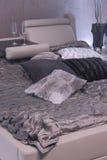Modern bedroom interior design. Royalty Free Stock Images