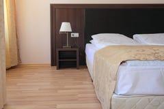 Modern bedroom interior design. Royalty Free Stock Image