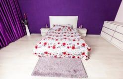Modern bedroom interior design Royalty Free Stock Images