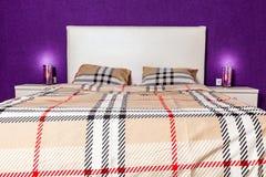 Modern bedroom interior design Royalty Free Stock Photos