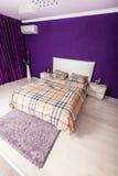 Modern bedroom interior design Royalty Free Stock Photography