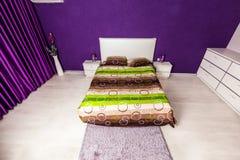 Modern bedroom interior design Royalty Free Stock Photo