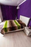 Modern bedroom interior design Stock Photo