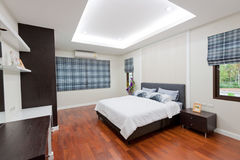 Modern bedroom interior Royalty Free Stock Images