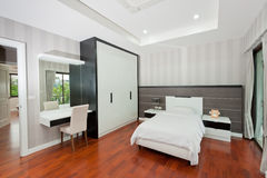 Modern bedroom interior Stock Photography