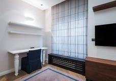 Modern bedroom interior Stock Image