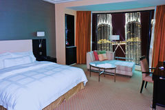 Modern Bedroom at Kuala Lumpur Stock Image
