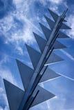Modern Beeldhouwwerk Stock Afbeeldingen