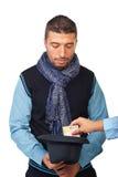 Modern beggar Stock Photos