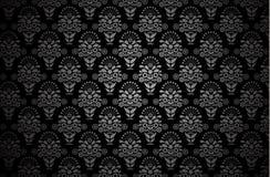 Modern Behangpatroon Achtergrond voor uw ontwerp Donkere dekking Royalty-vrije Stock Fotografie