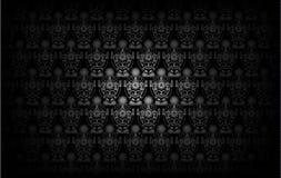 Modern Behangpatroon Achtergrond voor uw ontwerp Donkere dekking Stock Fotografie