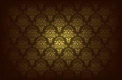 Modern Behangpatroon Vector illustratie Royalty-vrije Stock Afbeeldingen