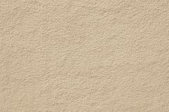 Modern beige painted wall background texture Stock Photography