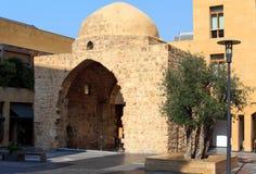 Modern Beirut som är forntida och Arkivfoto