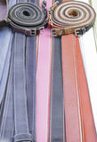 Modern Belts Stock Photography