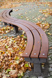 Modern bench Stock Images