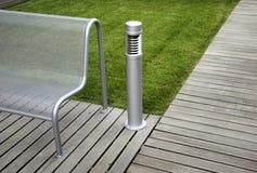 Modern bench Royalty Free Stock Photo