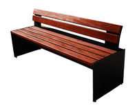 Modern bench Royalty Free Stock Photo