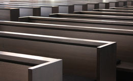 Modern Benches Stock Image