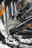 Modern bicycle's mechanism Royalty Free Stock Photography