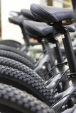 Modern bicycles Royalty Free Stock Images