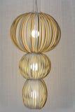 Modern big  chandelier. Huge chandelier in a luxury hotel lobby,Bodrum,Turkey Stock Photos