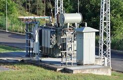 Modern big transformers Stock Photo