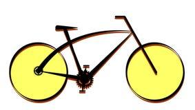 Modern bike icon, vector Royalty Free Stock Photo