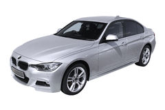 Modern bil BMW 3 (F30) Royaltyfri Fotografi