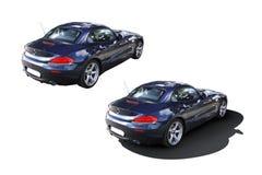 Modern bil BMW Z4 Arkivbilder