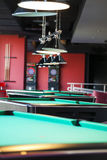 Modern Billiard Club Inviting to Play Royalty Free Stock Photo