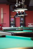 Modern Billiard Club Inviting to Play Stock Photos
