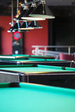 Modern Billiard Club Inviting to Play Stock Images