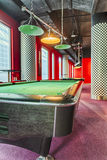 Modern Billiard Club Inviting to Play Stock Photography
