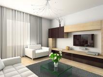 Modern binnenland. Stock Foto's