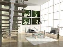 Modern binnenland. Stock Fotografie