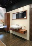 Modern binnenland. Badkamers Royalty-vrije Stock Fotografie