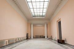 Modern binnenland in de grote bouw Royalty-vrije Stock Afbeeldingen