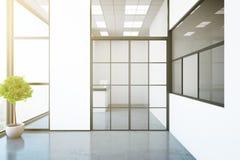 Modern binnenland met ontvangst vector illustratie